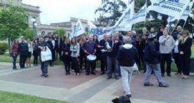 La Bancaria Jun�n se sum� a la protesta