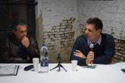 """La Plata: Atanasof y Bonicatto coincidieron en """"la unidad del peronismo para volver al Gobierno de la ciudad"""""""