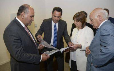 Presentan el proyecto de la base de Gendarmería
