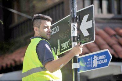 El Municipio comienza a señalizar 210 calles