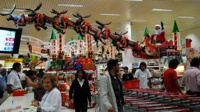 Prev�n que la canasta de Navidad llegar� con un aumento del 32%