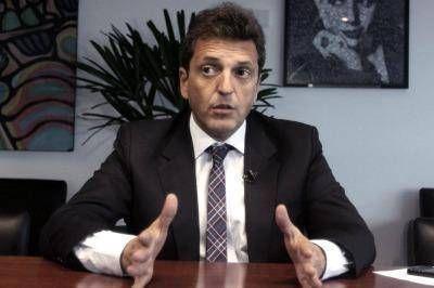 """Massa: """"La economía argentina necesita recuperar el poder de compra de la gente"""""""