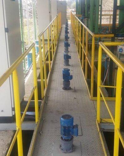 ABSA realiza tareas de mantenimiento en la planta de 9 de Julio