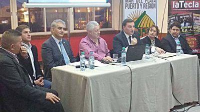 Montoya y Baudry pidieron avanzar hacia la autonomía municipal