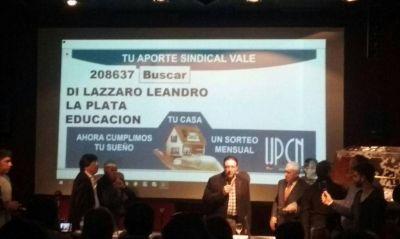 """Leando Di Lazzaro, el ganador del primer sorteo del programa """"Viviendas Solidarias"""""""