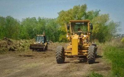 Peaje Larena: ya comenzó la construcción de la colectora