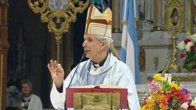 """Multitudinaria peregrinación a Luján: El cardenal Poli pidió """"hacer algo"""" por los pobres"""