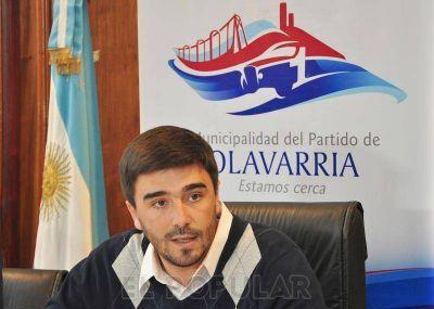 Gestiones de Galli para conseguir obras en Olavarr�a