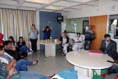 Se realizó una nueva reunión por la situación en Pediatría