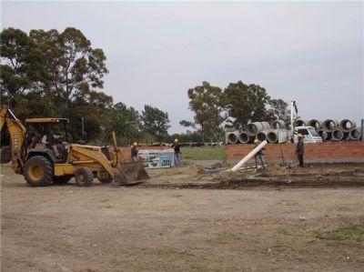 Se retomó la obra para la construcción del edificio de la Escuela 502