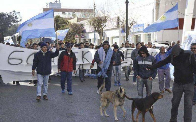 Los trabajadores de Guilford marcharán hoy por el centro