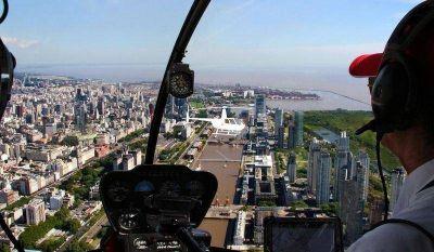 Llegan los taxis aéreos a Buenos Aires
