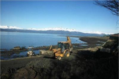Realizaron obras de mejoramiento del sistema cloacal en el sector costero