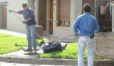Aguas de Balcarce realiz� un operativo de limpieza de desag�es cloacales