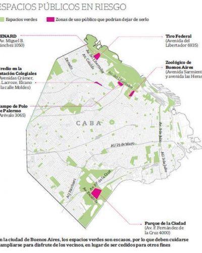 ¿Una ciudad sin espacios verdes?