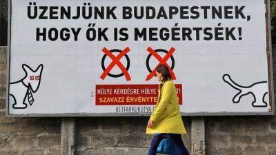 Hungría vota si acepta la legislación europea sobre los refugiados