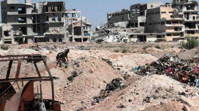 Alepo: la UE lanzó una