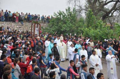 Los jujeños peregrinaron a la Virgen del Rosario de Río Blanco y Paypaya