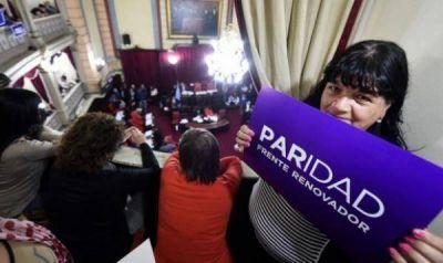 Con el oficialismo alineado, mañana se vota la ley de Paridad de Género