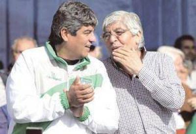 Hugo Moyano pidi� que no presionen a la CGT por la fecha de un paro general