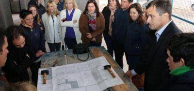 """Bucca confirmó que la obra de la Escuela Especial Nº 502 """"está en marcha"""" y que en 10 meses se finalizaría"""