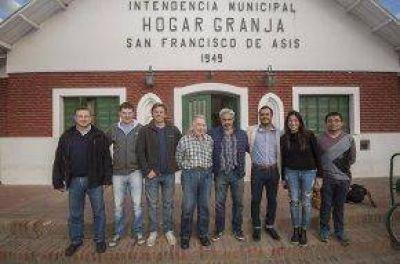 Visita de autoridades de PAMI al Hogar San Francisco