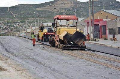 Fuerte inversión de obra pública se ejecuta en el San Cayetano