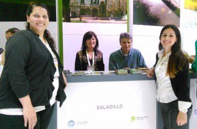Saladillo presente en la Feria Internacional de Turismo de América Latina