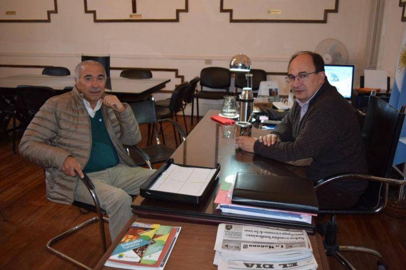 Salomón se reunió con el Secretario General del Sindicato de Trabajadores Municipales de Saladillo