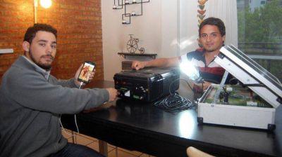 Energía solar portátil, un invento de jóvenes cipoleños