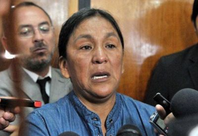 Milagro Sala, a juicio oral por amenazar a Morales