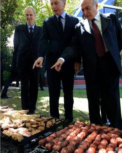 Macri y Temer acordaron seguir avanzando con Garab� y puentes sobre los r�os Uruguay y Pepir� Guaz�
