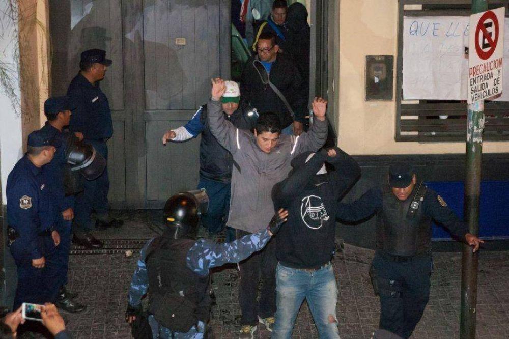 UTA: detenidos piden el apoyo de los trabajadores