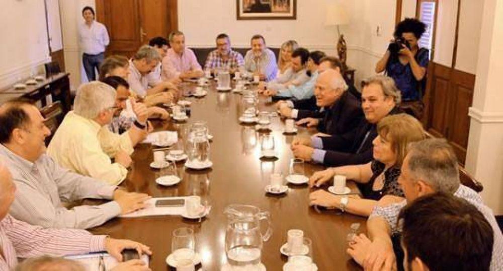 Encuentro de Lifschitz con sindicatos del Sector Público