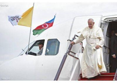 El Papa Francisco agradece por su viaje en Georgia y Azerbaiyán