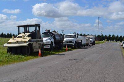 Comenzarán los trabajos de bacheo sobre el acceso a Mechongué