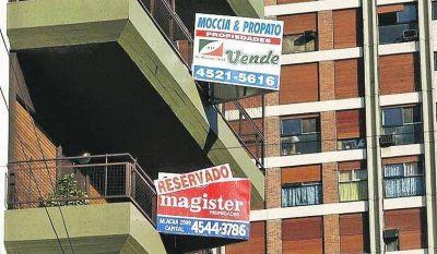 Sube un 44% la venta de inmuebles en la Ciudad