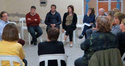 Por consultas de PAMI, Rodera visitó el barrio Benito Machado