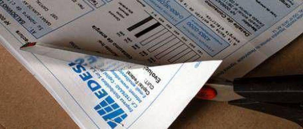 Tarifazo: prohiben cortes por falta de pago
