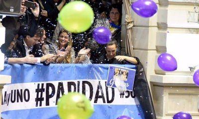 Desde las pr�ximas elecciones, paridad de g�nero en las listas legislativas bonaerenses