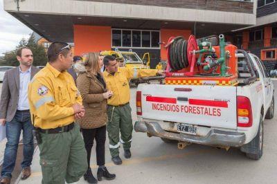 Presentaron acciones para evitar incendios forestales en la provincia