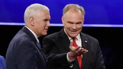 Debate de vicepresidentes: mucho m�s sustancioso que el de sus jefes y con un Pence renuente a defender a Trump