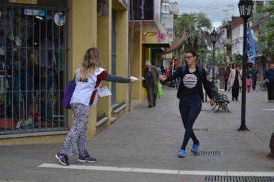 Agmer: Protesta docente con paro y volanteada