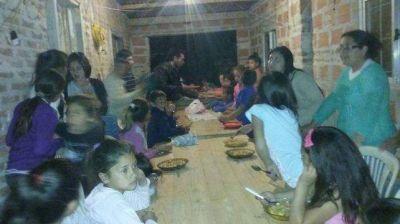 Alrededor de 1.000 personas concurrieron a las ollas populares en Entre R�os para pedir m�s trabajo