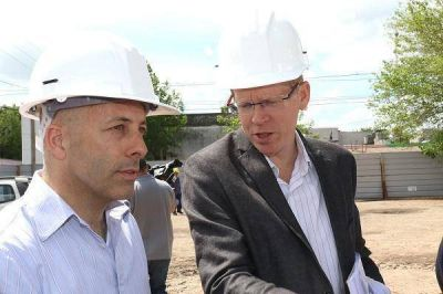 Comenzaron los trabajos para el nuevo Banco Provincia en Derqui