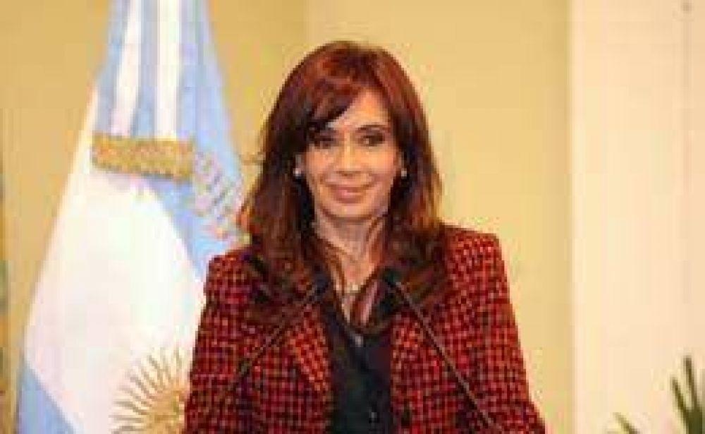 Cristina anunció financiamiento para investigaciones científicas