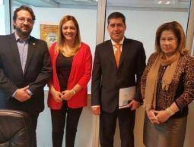 Coparticipaci�n. Casas logr� un apoyo clave en el Congreso