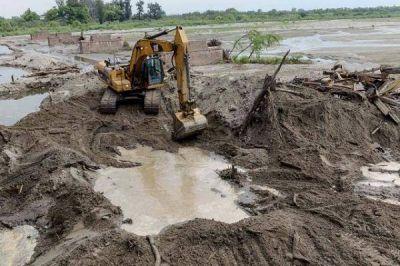 Obras en el r�o Gastona para evitar que vuelvan las inundaciones
