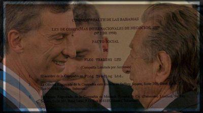 Panamá Papers: amplían la denuncia contra Mauricio Macri con documentos clave aportados por su padre Franco