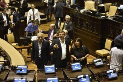 Otra ruptura en el peronismo de la Legislatura